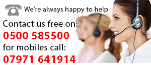 call us today on 0500 585 500
